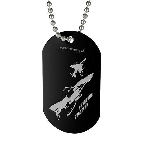 F-4 PHANTOMS PHOREVER Dog Tag