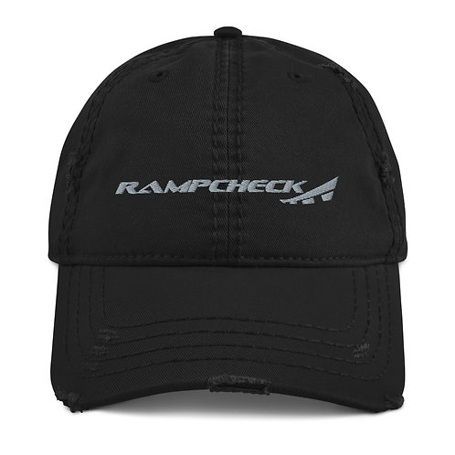 RAMPCHECK LOGO AVGEEK Distressed Hat