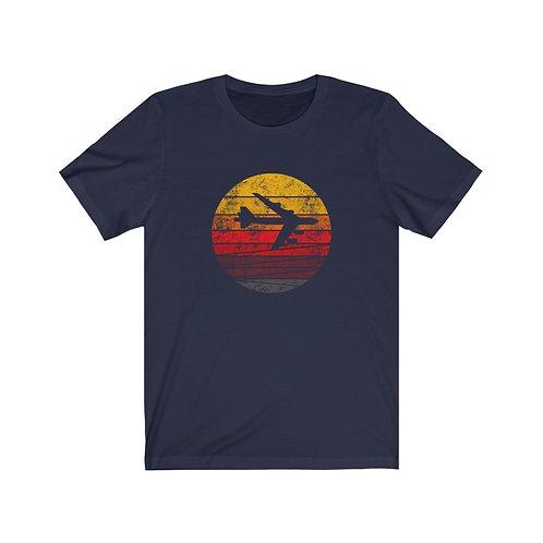 B-52 DISTRESSED RETRO SUNSET Unisex T-Shirt