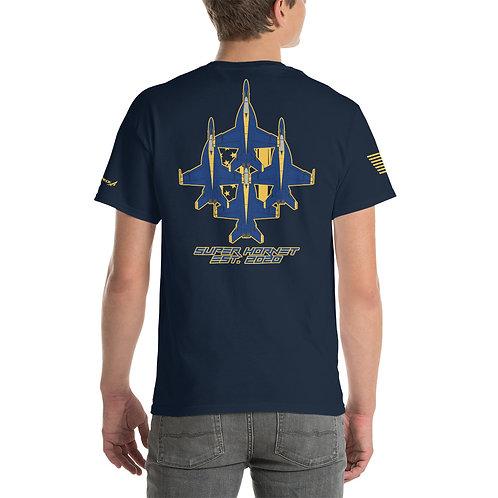 UNOFFICIAL USN BLUE ANGELS SUPER HORNET DIAMOND EST. 2020 PREMIUM HW T-shirt