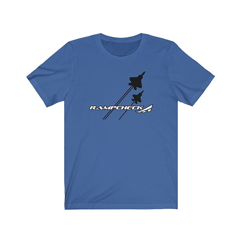 RAMPCHECK F-22 F-35 Unisex Short Sleeve T-Shirt