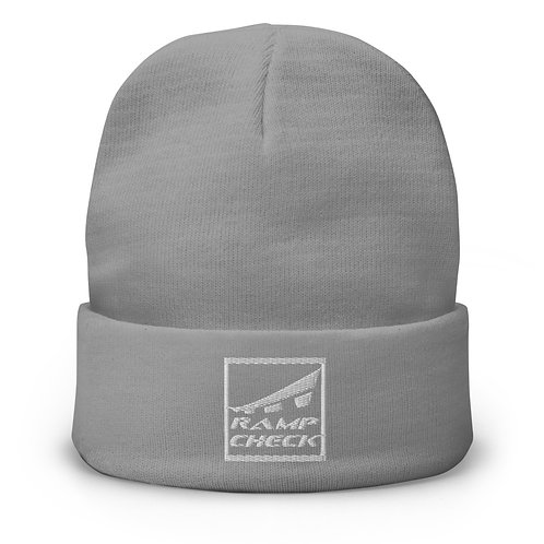 SQUARE RAMPCHECK LOGO Embroidered Beanie