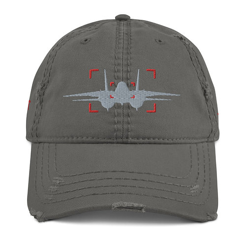 LOCKED ON TOMCAT AVIATION PHOTOGRAPHY Distressed Dad Hat