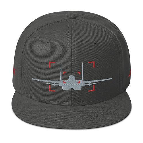 LOCKED ON EAGLE AVIATION PHOTOGRAPHY Snapback Hat
