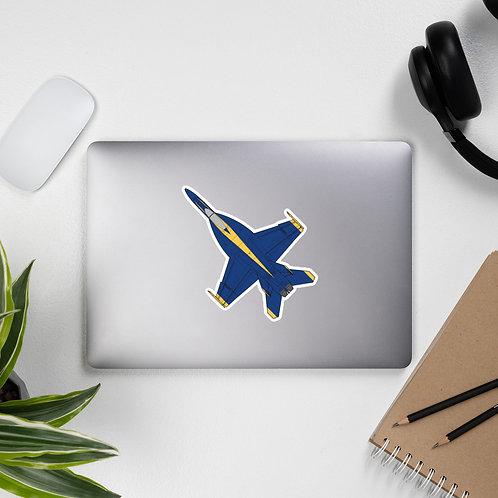 UNOFFICIAL USN BLUE ANGELS F/A-18E SUPER HORNET Sticker