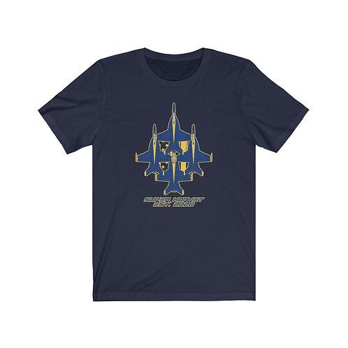 UNOFFICIAL USN BLUE ANGELS SUPER HORNET DIAMOND EST. 2020 Lightweight T-shirt