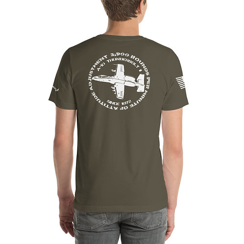 A-10 3,900 RPM OF ATTITUDE ADJUSTMENT PREMIUM Lightweight T-shirt