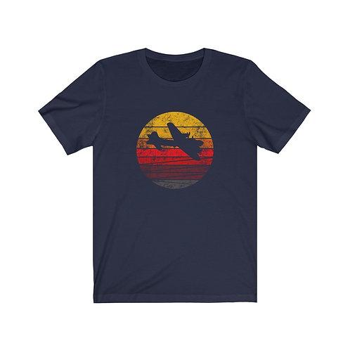 B-17 DISTRESSED RETRO SUNSET Unisex T-Shirt