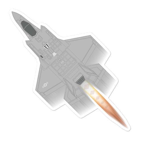 UNOFFICIAL USAF F-35A FULL SEND STICKER