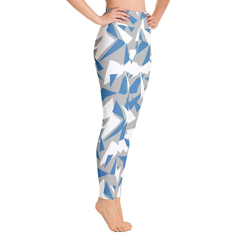 GRAY SPLINTER AGGRESSOR Yoga Leggings