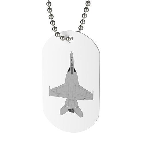 F/A-18E SUPER HORNET Dog Tag
