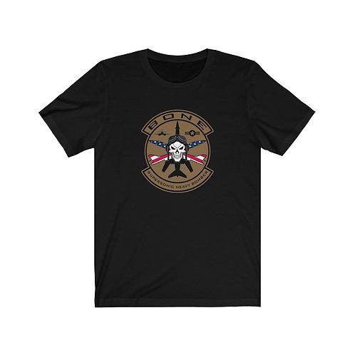 UNOFFICIAL USAF BONE SKULL & CROSS BONES USA Lightweight T-shirt