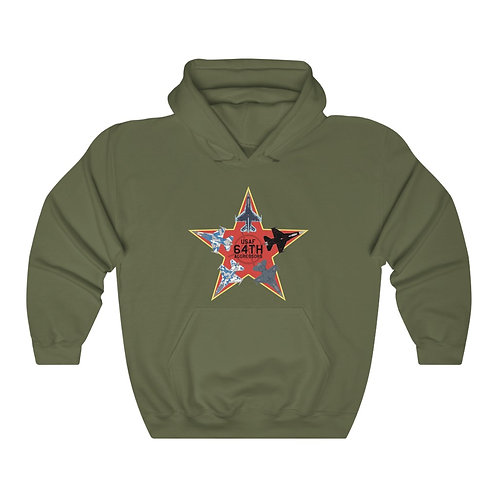 UNOFFICIAL 64TH AGGRESSORS F-16 RED STAR Unisex Heavy Blend Hoodie