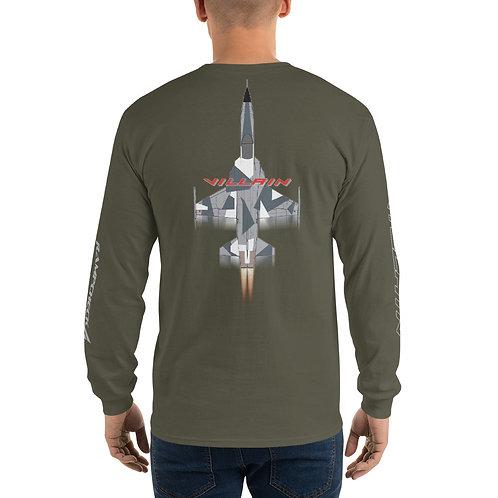 F-5 VILLAIN ARCTIC SPLINTER AGGRESSOR FS Heavyweight Long Sleeve T-Shirt