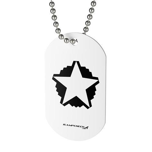 B-2A SPIRIT 5 STAR Dog Tag
