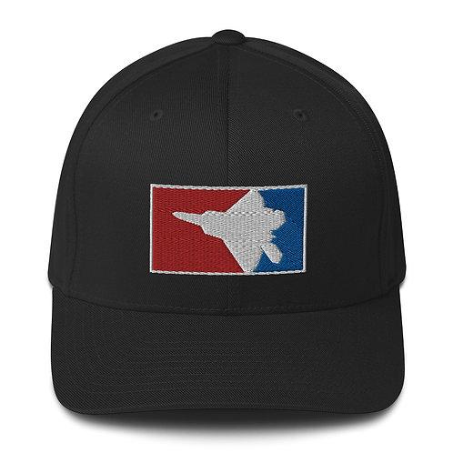 F-22 RWB FLEXFIT HAT