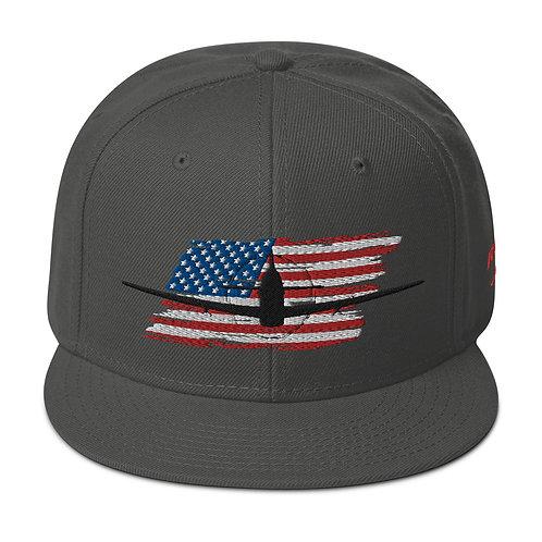 P-51 MUSTANG USA Snapback Hat