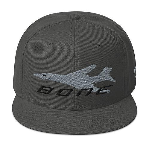 B-1 BONE Snapback Hat