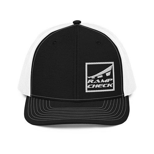 SQUARE RAMPCHECK LOGO Trucker Cap