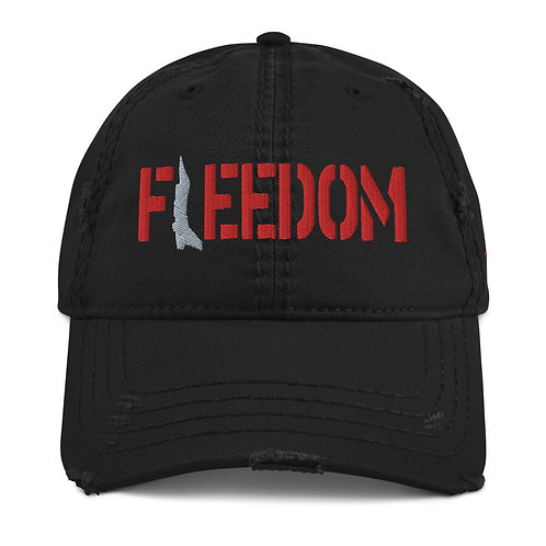 FREEDOM VIPER Distressed Dad Hat