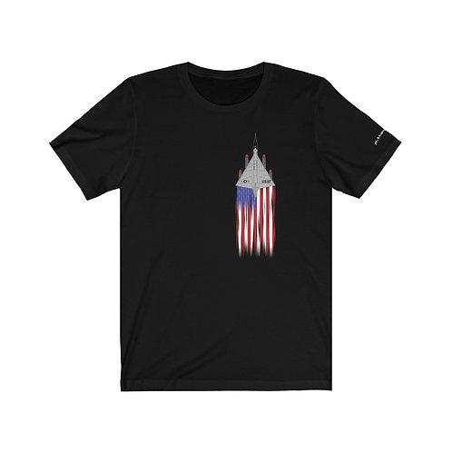 B-58A US FLAG FULL SEND Unisex T-Shirt