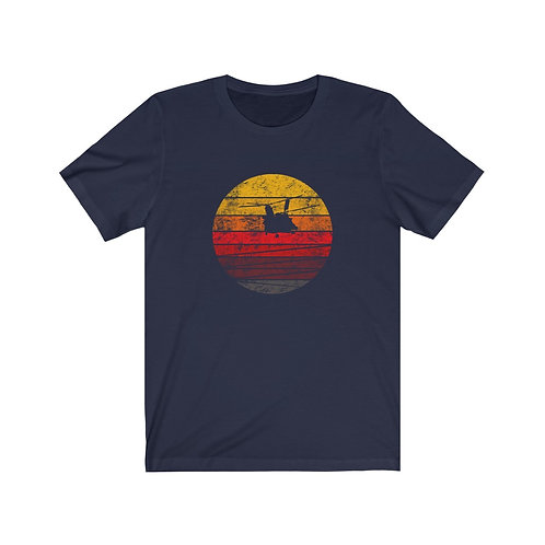 MH-47 DISTRESSED RETRO SUNSET Unisex T-Shirt