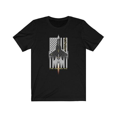 UNOFFICIAL USAF F-16C VIPER DEMO TEAM VENOM USA Lightweight T-shirt