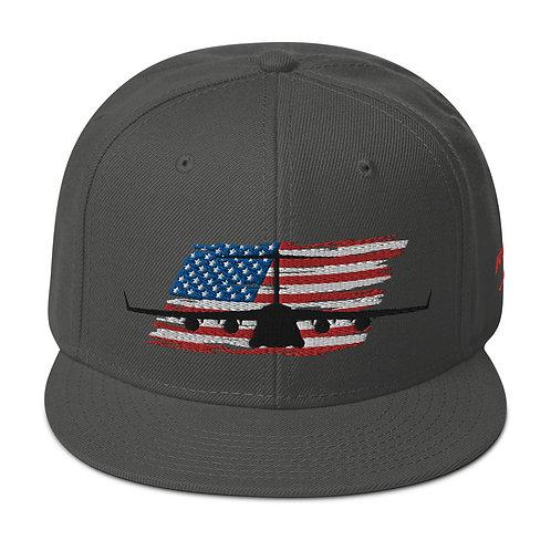 C-17 GLOBEMASTER III USA Snapback Hat