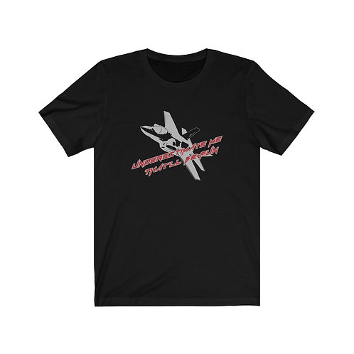 F-35 UNDERESTIMATE ME THAT'LL BE FUN Unisex Short Sleeve T-Shirt
