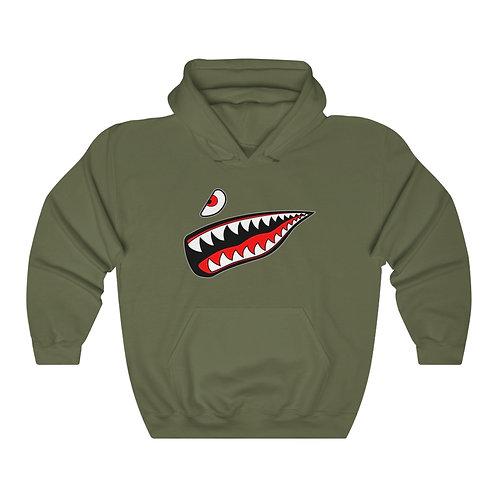 WARBIRD SHARK TEETH Unisex Heavy Blend Hoodie