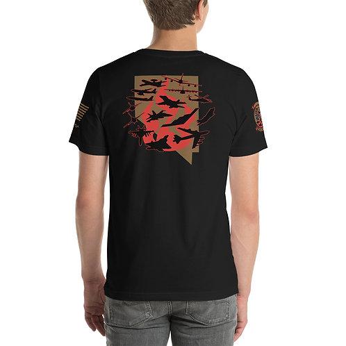 UNOFFICIAL RED FLAG 21-3 AIRCRAFT NEVADA PREMIUM Lightweight T-shirt