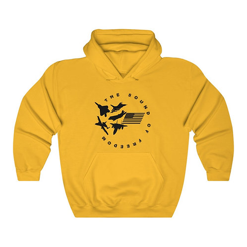 THE SOUND OF FREEDOM USAF FIGHTER & ATTACK Unisex Heavy Blend Hoodie