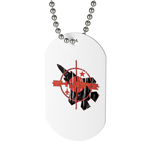 UNOFFICIAL 64 AGRS F-35A TARGET Dog Tag