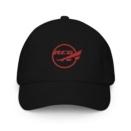 RAMPCHECK CIRCLE LOGO Red Thread Embroidered Kids Hat