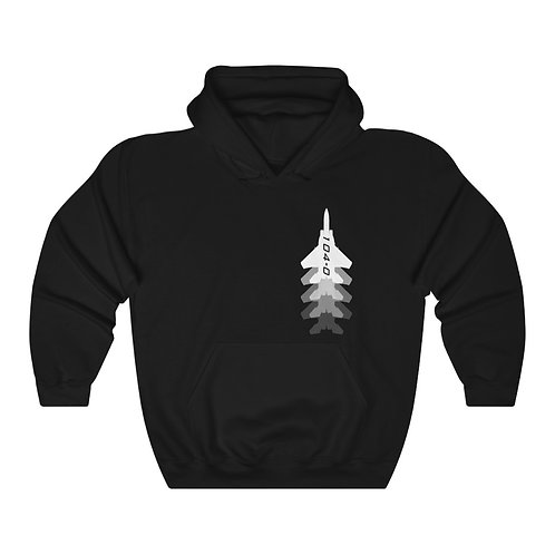 F-15 104-0 FULL SEND FRONT AND BACK PRINT Unisex Heavy Blend HOODIE