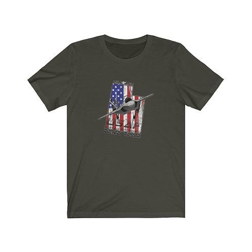 UNOFFICIAL USAF F-35A LIGHTNING II DEMO TEAM HAFB UT USA DP Unisex T-Shirt