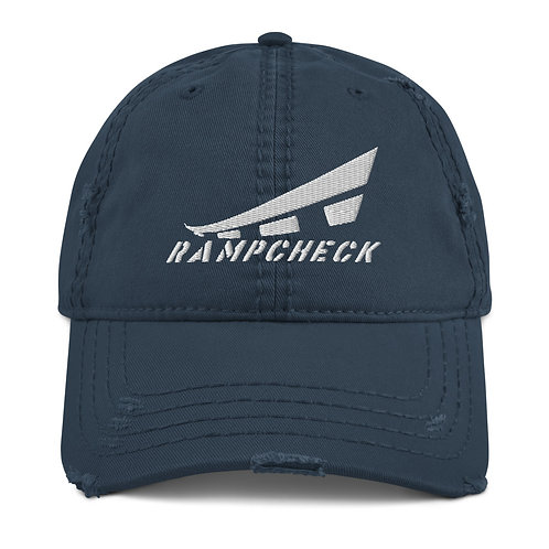 RAMPCHECK LOGO Distressed Dad Hat