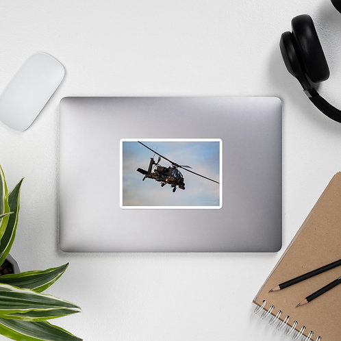 AH-64 APACHE PHOTO STICKER