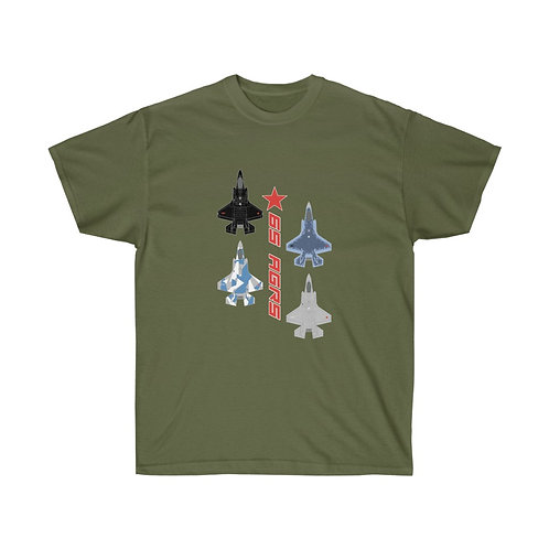 UNOFFICIAL USAF CONCEPT F-35 65 AGRS Heavyweight T-shirt