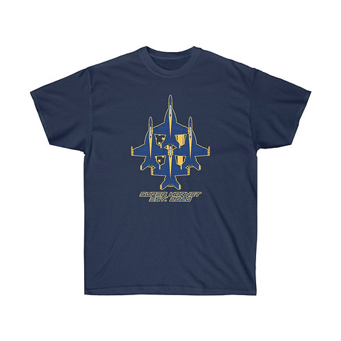 UNOFFICIAL USN BLUE ANGELS SUPER HORNET DIAMOND EST. 2020 Heavyweight T-shirt