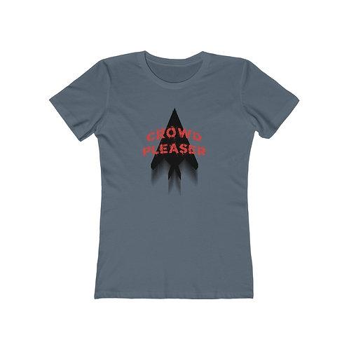 F-117 CROWD PLEASER Women's The Boyfriend T-shirt