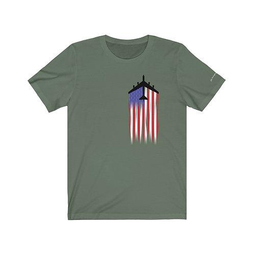 B-52H US FLAG FULL SEND Unisex T-Shirt