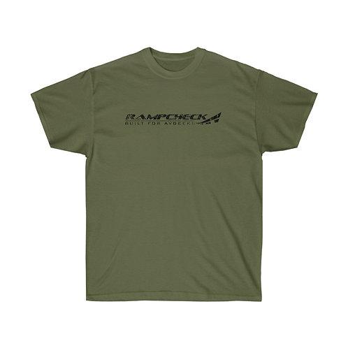 RAMPCHECK BUILT FOR AVGEEKS DISTRESSED PRINT LOGO Heavyweight T-shirt