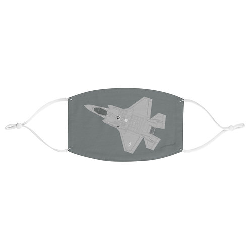 USAF F-35A LIGHTNING II Fabric Face Mask