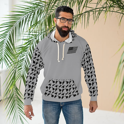 USAF F-15 F-16 F-22 F-35 FIGHTERS PATTERN Unisex Pullover Hoodie