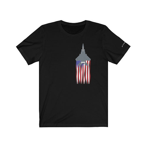 F-15E US FLAG FULL SEND Unisex T-Shirt
