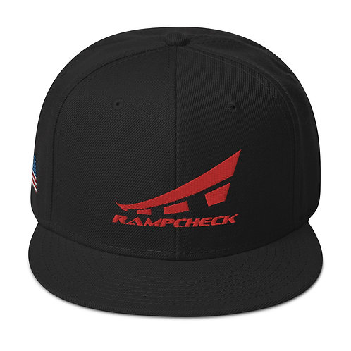 RAMPCHECK LOGO USA Snapback Hat