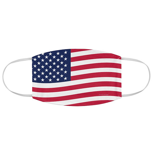 USA FLAG Fabric Face Mask