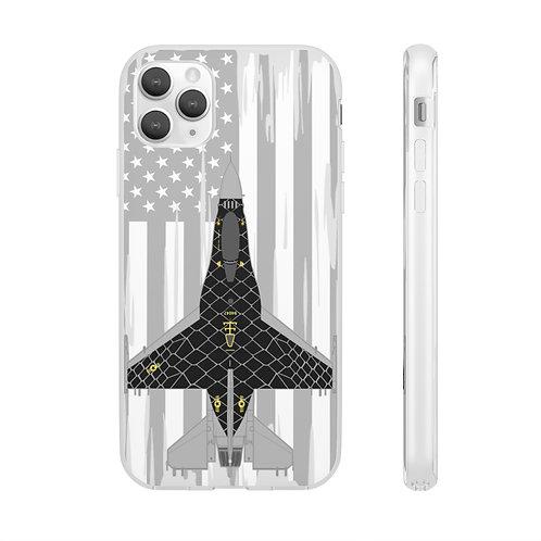 UNOFFICIAL F-16C VIPER DEMO TEAM VENOM USA Flexi Phone Case