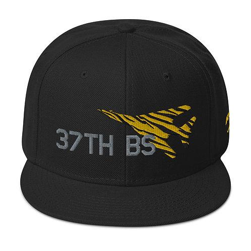 UNOFFICIAL USAF 37TH BS B-1B TIGER Snapback Hat